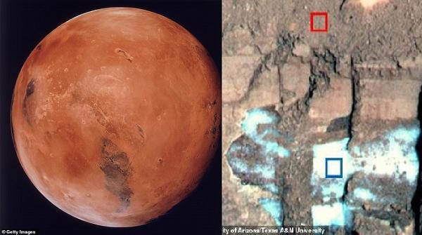 Marstaki Kar, Dünyadakinden Daha Tozlu ve Bu, Yaşam Sürdürmeye Yardımcı Olabilir