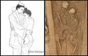 Çinde Keşfedilen 1500 Yıllık Sonsuz Aşk Çiftinde Kadın Kendini Feda Etmiş Olabilir