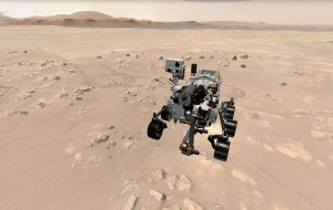 Interactive Web Experiences: Take a 3D Spin on Mars and Track NASA's Perseverance Rover