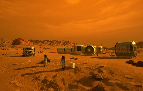 Scientists Use Seasonal Variations To Find Water for Future Mars Astronauts