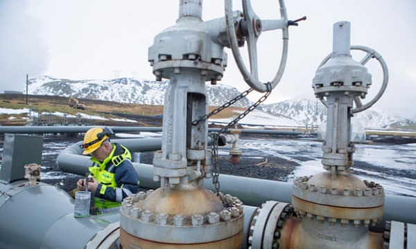 İzlandada Havadan Karbon Yakalayan Dünyanın En Büyük Makinesi Açıldı