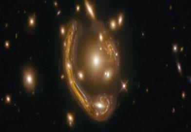 Breathtaking 'Einstein Ring' Reveals Views of Galaxy 9.4 Billion Light-Years Away
