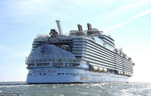 Dünyanın En Büyük Yolcu Gemisinin Muhteşem Video Görüntüleri Paylaşıldı