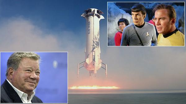 90 Yaşındaki Efsanevi Star Trek Oyuncusu Bu Kez Gerçekten Uzaya Gidiyor